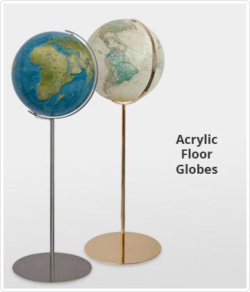 Acrylic Floor Globes