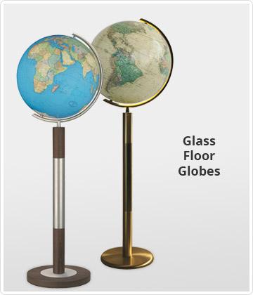 Crystal Floor Globes